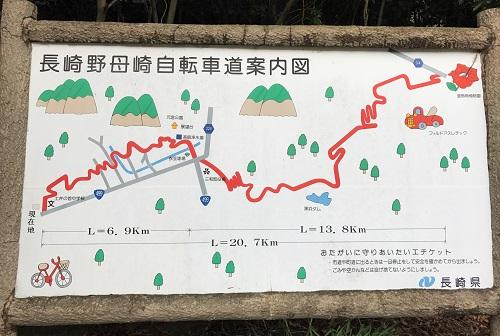 自転車道路案内図