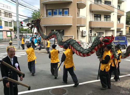 長崎とまちくんち龍踊2