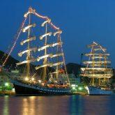 長崎帆船祭り夜