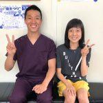 西日本インカレ10位の陸上選手がインソールを作りに来てくれました。
