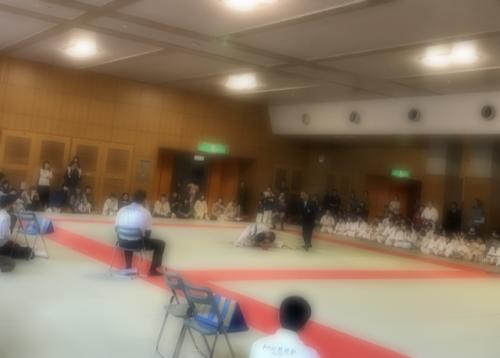 子供の柔術大会
