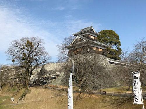 熊本城の城壁