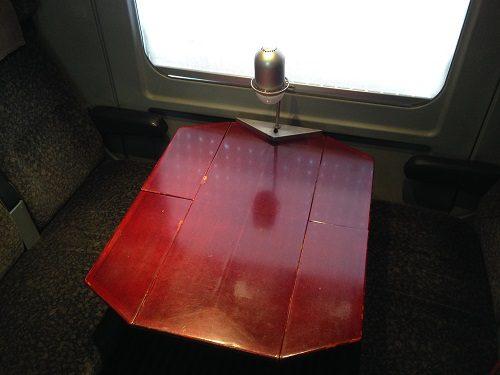 ボックスシートテーブル