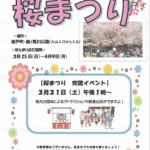 新戸町の鹿ノ尾川公園「桜まつり2018」