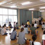 蚊焼保育所で「足育」育児講座