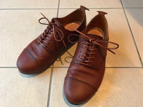 革靴履き込み
