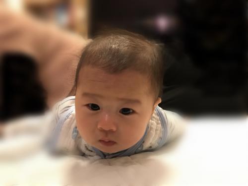 赤ちゃん4ヶ月