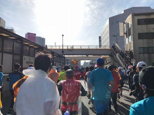フルマラソン前半