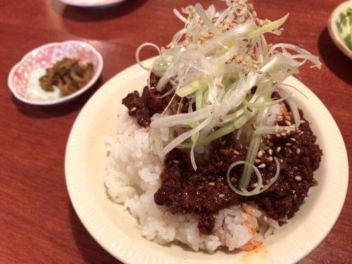 長崎市紅蘭亭黒飯