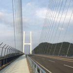 長崎のおすすめランニングコース【無料駐車場から女神大橋】