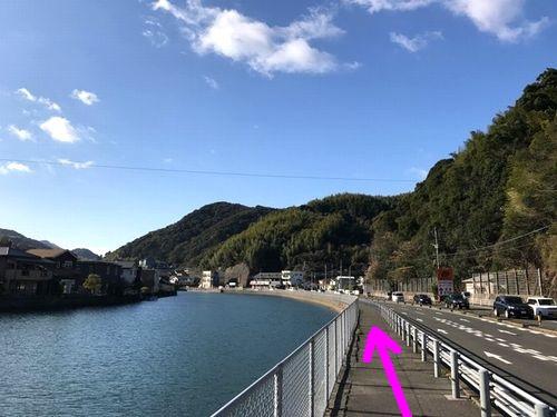 鹿尾川ジョギング